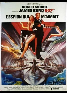 affiche du film ESPION QUI M'AIMAIT (L')