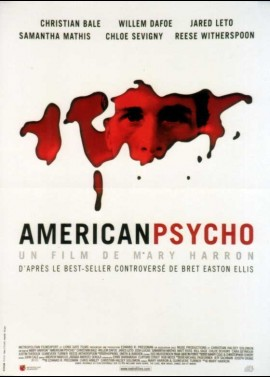 affiche du film AMERICAN PSYCHO
