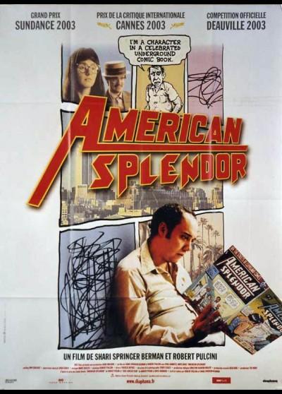 AMERICAN SPLENDOR movie poster