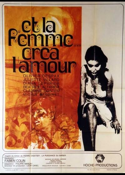 ET LA FEMME CREA L'AMOUR movie poster
