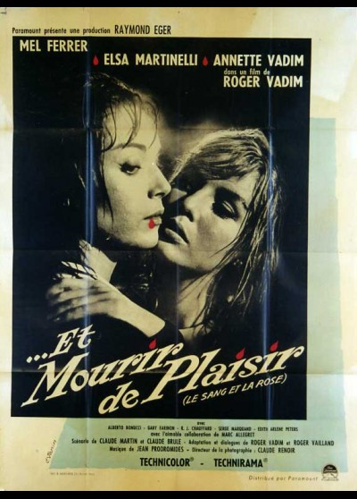 ET MOURIR DE PLAISIR movie poster