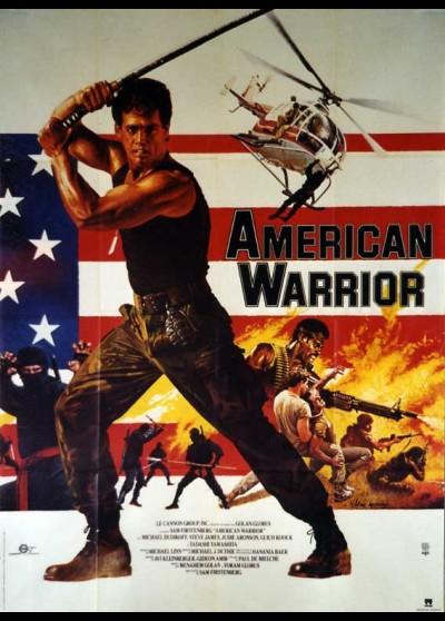 affiche du film AMERICAN WARRIOR