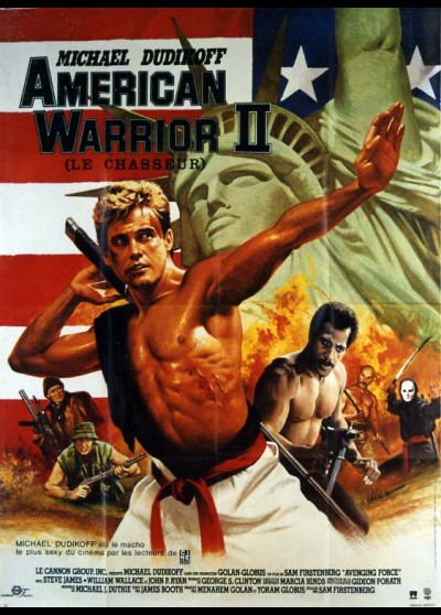 affiche du film AMERICAN WARRIOR 2