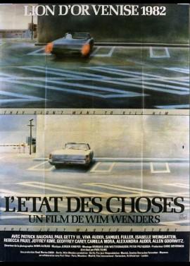 affiche du film ETAT DES CHOSES (L')