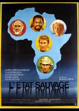 affiche du film ETAT SAUVAGE (L')