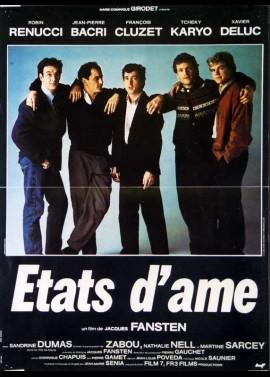 affiche du film ETATS D'AME
