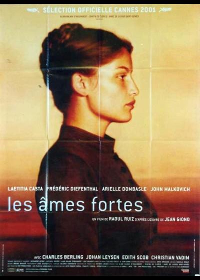 affiche du film AMES FORTES (LES)