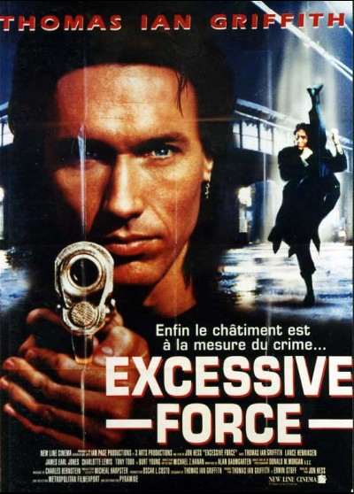 EXCESSIVE FORCE movie poster