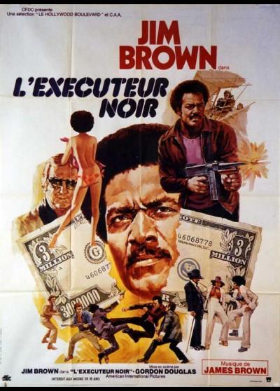 affiche du film EXECUTEUR NOIR (L')