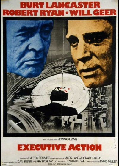 EXECUTIVE ACTION movie poster