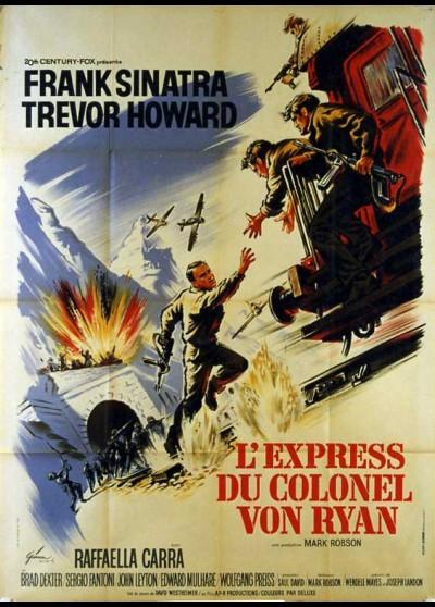 affiche du film EXPRESS DU COLONEL VON RYAN (L')