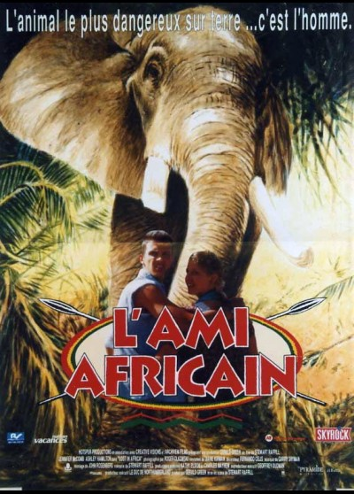 LOST IN AFRICA movie poster