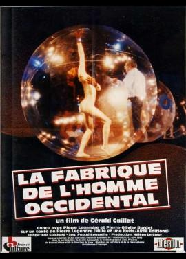 FABRIQUE DE L'HOMME OCCIDENTAL (LA) movie poster