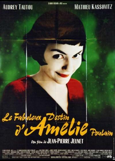 affiche du film FABULEUX DESTIN D'AMELIE POULAIN (LE)