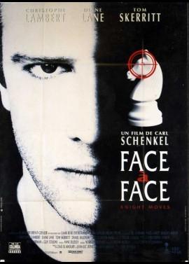 affiche du film FACE A FACE