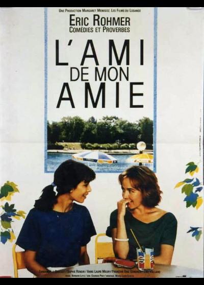 affiche du film AMI DE MON AMIE (L')