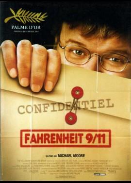 FAHRENHEIT 9 / 11 / FAHRENHEIT NINE ELEVEN movie poster