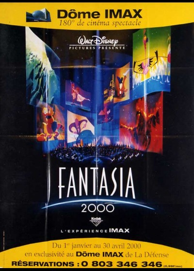 FANTASIA 2000 movie poster
