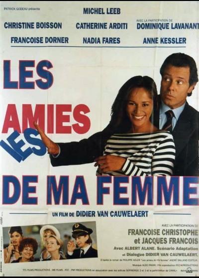 affiche du film AMIES DE MA FEMME (LES)