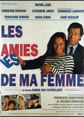 AMIES DE MA FEMME (LES) movie poster