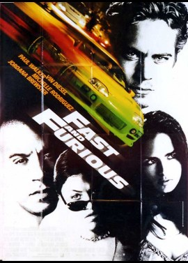 FAST AND THE FURIOUS (THE) movie poster