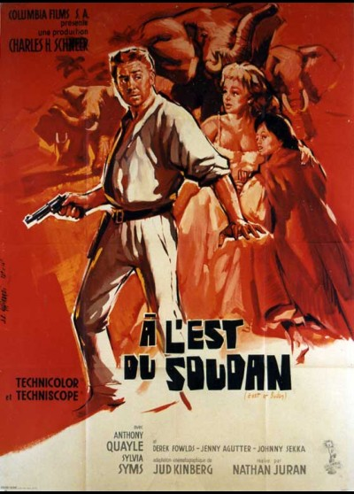 affiche du film A L'EST DU SOUDAN