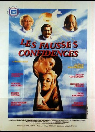 FAUSSES CONFIDENCES (LES) movie poster