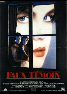 BEDROOM WINDOW (THE) movie poster