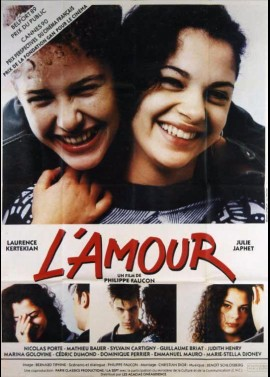 AMOUR (L') movie poster