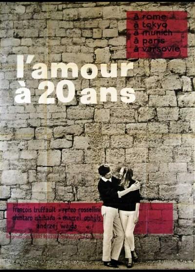 affiche du film AMOUR A VINGT ANS (L')