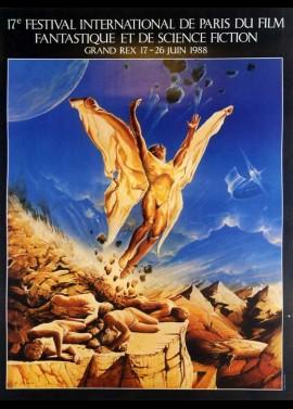 affiche du film FESTIVAL DU FILM FANTASTIQUE DU REX 1988