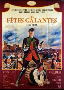 affiche du film FETES GALANTES (LES)