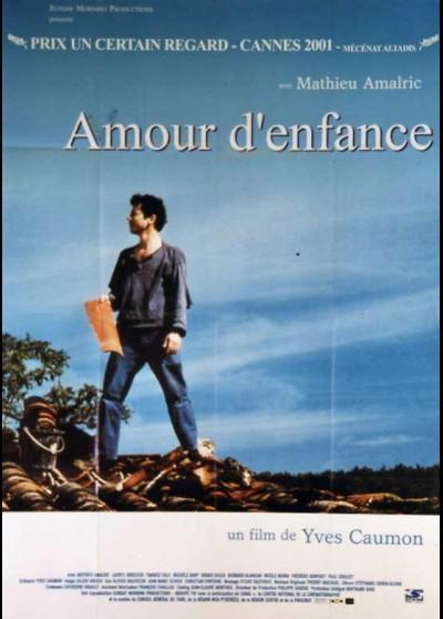 affiche du film AMOUR D'ENFANCE