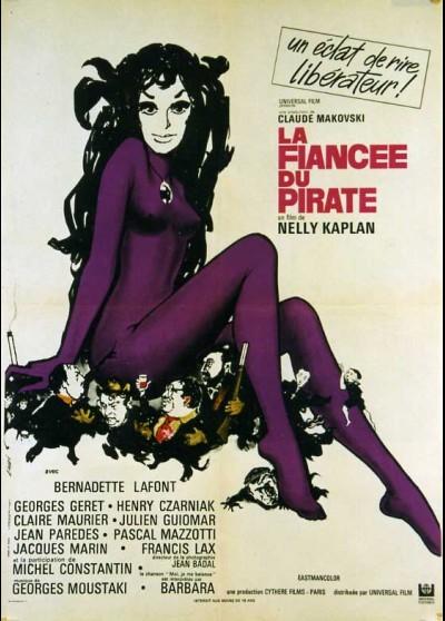 FIANCEE DU PIRATE (LA) movie poster