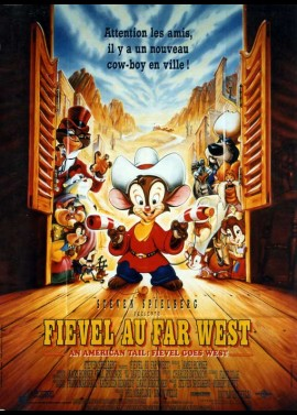 AN AMERICAN TAIL FIEVEL GOES WEST movie poster