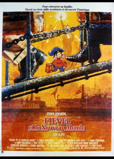 AN AMERICAN TAIL movie poster