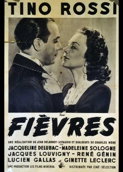 affiche du film FIEVRES