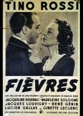 FIEVRES movie poster