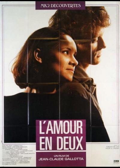 affiche du film AMOUR EN DEUX (L')