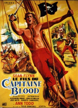 affiche du film FILS DU CAPITAINE BLOOD