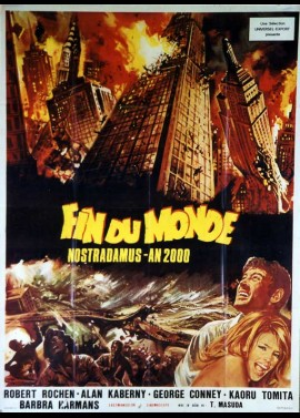affiche du film FIN DU MONDE NOSTRADAMUS AN 2000