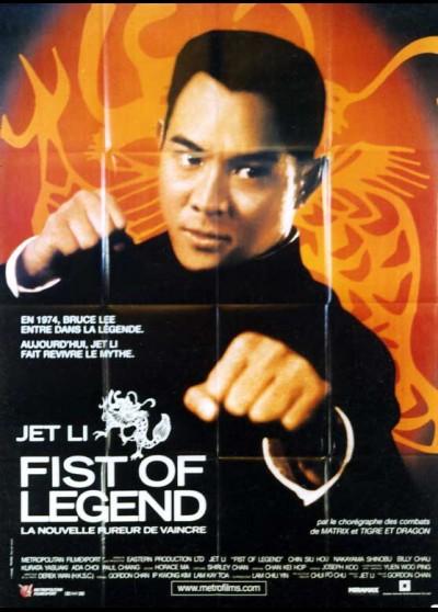 affiche du film FIST OF LEGEND LA NOUVELLE FUREUR DE VAINCRE