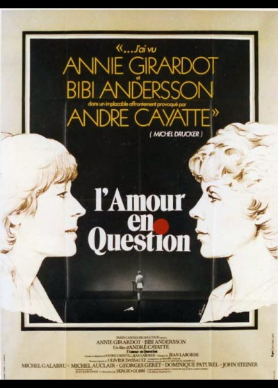 affiche du film AMOUR EN QUESTION (L')