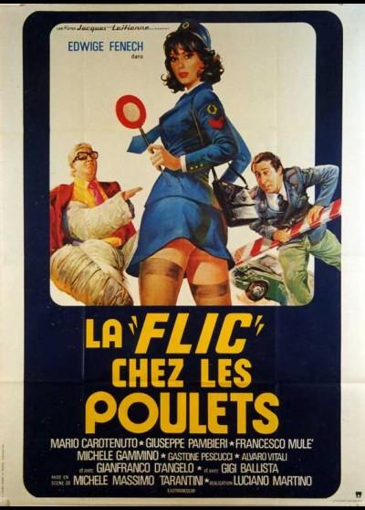 affiche du film FLIC CHEZ LES POULETS (LA)