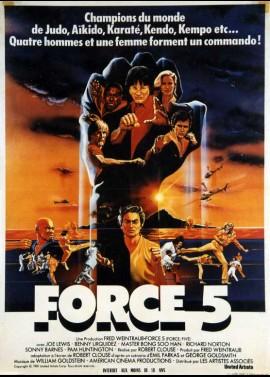 affiche du film FORCE CINQ