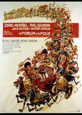 A FUNNY THING HAPPENED ON THE WAY TO THE FORUM movie poster