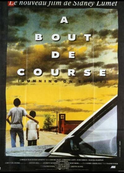 affiche du film A BOUT DE COURSE