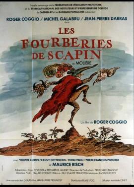 affiche du film FOURBERIES DE SCAPIN (LES)
