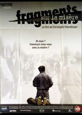 FRAGMENTS SUR LA MISERE movie poster