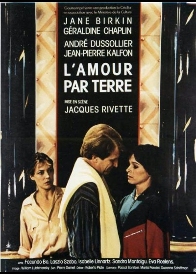 affiche du film AMOUR PAR TERRE (L')